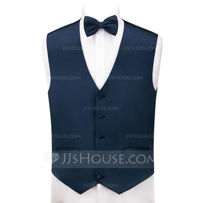 JJ's House Satin Formal Vest