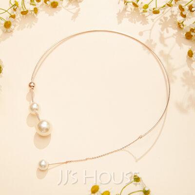 Unik Perle/Gold Plated Halskjeder