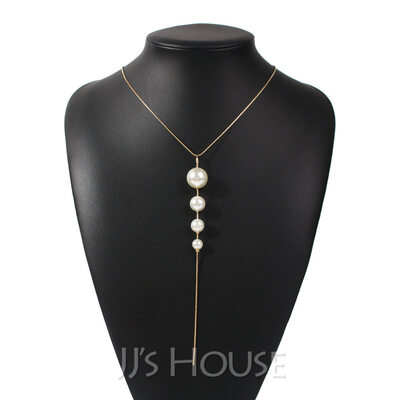 Ladies' Beautiful Pearl Necklaces