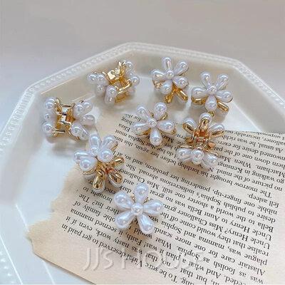 Vakkert Legering/Perler Tiaraer/Hårnåler med Perle