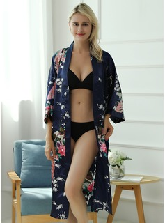 burgundy floral robes for bridesmaids