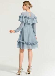 chiffon sweetheart wedding dress