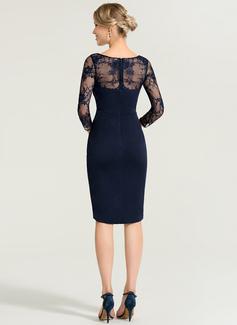 chiffon tea length dress