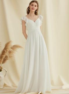 long white dress white