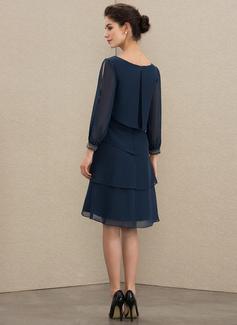 fuchsia short prom dress