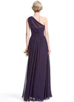 aline chiffon dress plus size