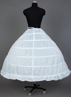 petticoat under a-line wedding dress