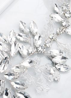 Nydelig/Unik Satin Bånd med Crystal/Rhinestones