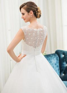 backless jeweled wedding dress