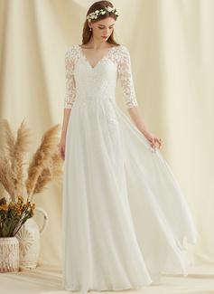 long white dress casual