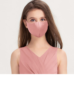 Kids' Non-Medical Satin Reusable Face Masks With Adjustable Loop