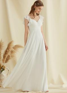 long white dress formal