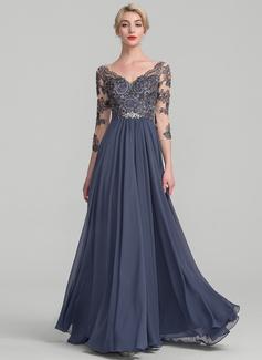 formal dresses for big chest