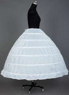 wedding dress petticoat with train
