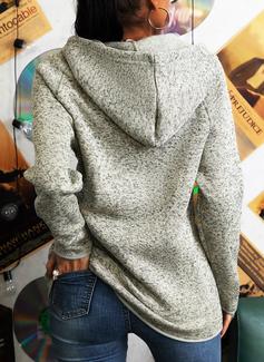 Lange ermer Regelmessig Christmas Rutete Trykk Leopard Figur Jerseykjorte