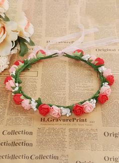 lace flower applique wedding dress