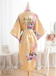 cheap satin bridesmaids robes