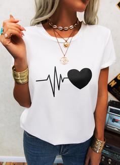 Regelmessig Trykk Hjerte Avslappet Kortermer