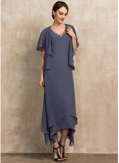 long sleeve wrap prom dress