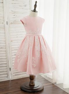 long satin 1920s dress