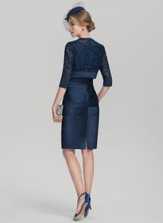 short ruched cocktail dresses