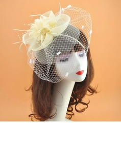Elegant Net Yarn Fascinators