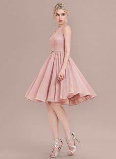 dusty rose short dress