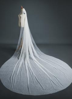 ruched mermaid wedding dress