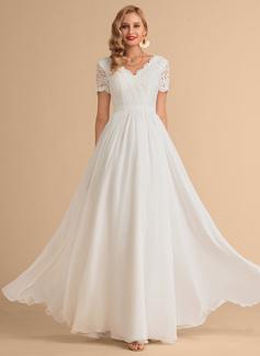 simple pretty wedding dresses