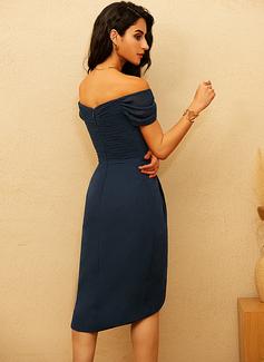 chiffon satin dress