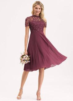vintage mid calf wedding dresses