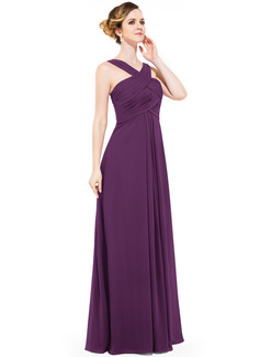 white v neck prom dress