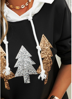 Lange ermer Regelmessig Christmas Jerseykjorte