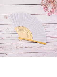 Bridesmaid Gifts - Beautiful Classic Wooden Hand Fan