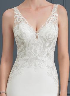 colored bridal dress