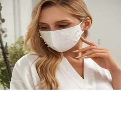 Ikke-medisinsk Satin Gjenbrukbar Ansiktsmasker Med justerbar løkke