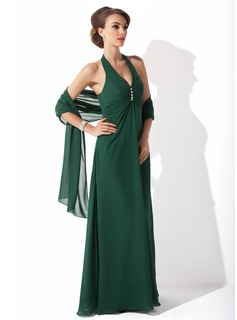 long sleeve wrap prom dress