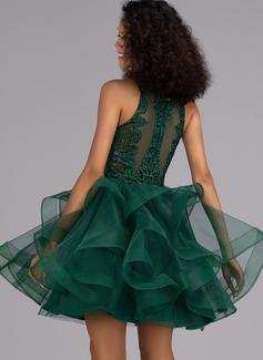 sheer lace mermaid wedding dress