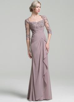 long sleeve sleek wedding dress