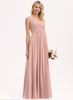 blush gold bridesmaid dresses