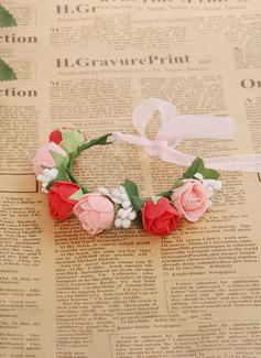 lace wedding dress flower crown
