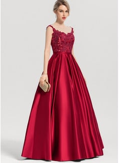 3/4 sleeve evening dresses
