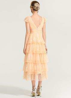 chiffon ruched prom dress