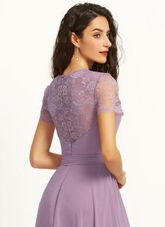 plus size sheer lace dress