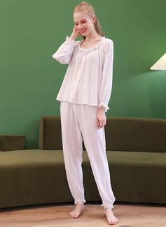 Ikke-personlig Bomull Pyjamasett