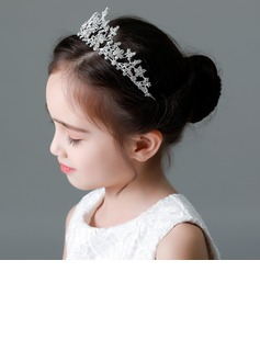 Kids Beautiful Rhinestone/Alloy Tiaras With Rhinestone (Sold in single piece)