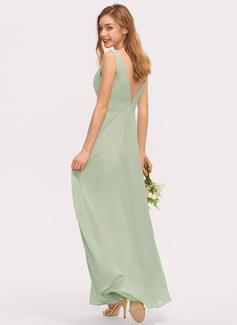 bohemian chiffon bridesmaid dresses
