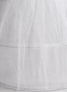 wedding dress petticoat a line