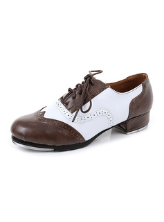 Unisex Real Leather Tap Dance Shoes