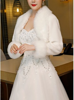 wedding dress wrap with sleeves